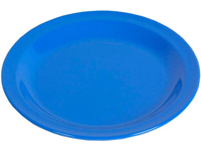 Waca Piatto Melamina piatto 23,5cm, blu